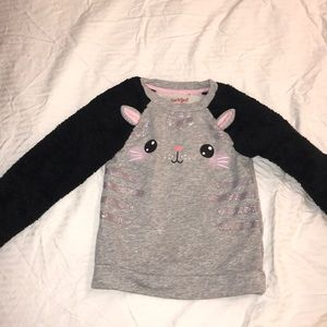 Cat and Jack kitty sweater